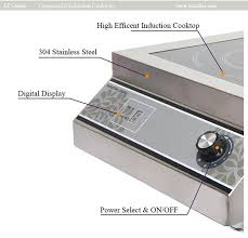 Induction Cooktop Power Industrial Stove Prices Commercial Induction Cooktops Restaurant