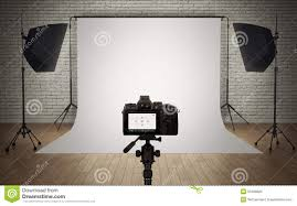 Photography Studio Photo Studio Light Setup Stock Illustration Image 50169620