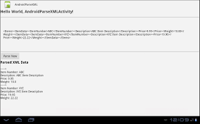 Java Map Example Android Parse Xml File Example Using Sax Parser