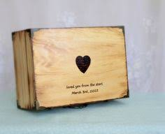 Customized Keepsake Box Wooden Memory Box Keepsake Box Large Hand Painted Wooden Memory