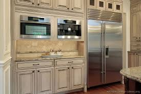 two toned kitchen cabinets of kitchens traditional two