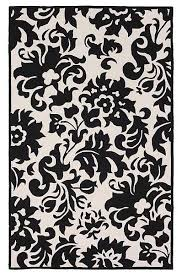 black and white accent rug intersiec com