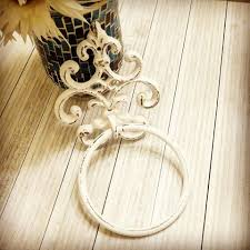towel holder towel ring french country towel hanger bar