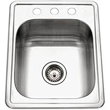 Sterling B Secondary Sink Inch By Inch Topmount Single - Gwt kitchen sink