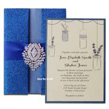 Invitation Card Store Wedding Invitation Card Royal Blue Yaseen For