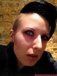 halloween makeup ideas with white manson halloween contacts 2016