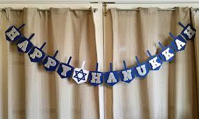happy hanukkah signs happy hanukkah banner hanukkah banner hanukkah decor