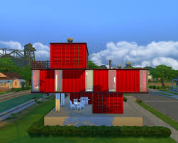 mod the sims modern container house