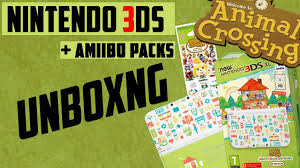 unboxing new nintendo 3ds animal crossing happy home designer