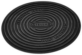 stellar audio video solutions stellar stellar 13cm silicone trivet worktop u0026 non stick pan protector