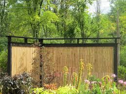 Simple Garden Fence Ideas Exterior Design Interesting Roller Bamboo Fencing For Garden