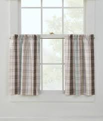 Top And Bottom Rod Curtains Café Curtains U0026 Tier Curtains Country Curtains