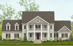 123 house plans colonial home plan dg 11a 1 6