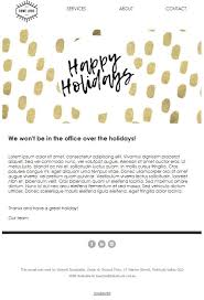 top 5 holiday newsletter templates