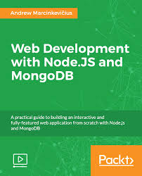 best node js books web development with node js and mongodb video packt books