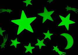 how much are black lights how glow in the dark stars work