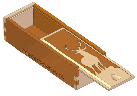 Wood Box Plans Free by Sliding Lid Box Plan