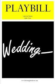bling wedding programs my playbill wedding programs wedding playbill wedding program