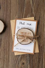 rustic save the date magnets wooden save the date magnets wedding save the date rustic