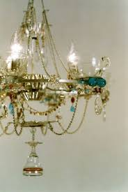 Making Chandeliers 81 Best Painted Chandeliers Images On Pinterest Crafts
