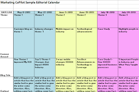 content marketing editorial calendar template