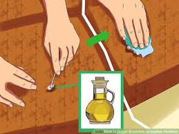 How To Fix A Tear In A Leather Sofa 3 Simple Ways To Repair Scratches On Leather Furniture Wikihow