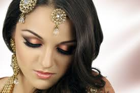 asian bridal makeup tutorial peach smokey eye