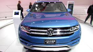 volkswagen crossblue 2016 vw crossblue suv video