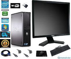 dell pc bureau pc de bureau dell optiplex 580 écran hp et clavier souris a