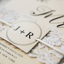 lace invitations simple country lace wedding invitations ewls059 as low as 1 93
