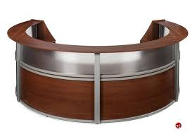 Circular Office Desk The Office Leader Omf 55314 4 Unit Marque Circular Reception