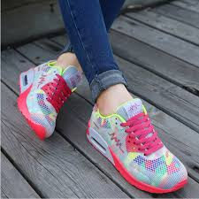 Comfortable Shoes For Girls Wholesale 2016 Breathable Women Running Shoes Girls Ladies