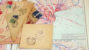 Map Letters Map And Letters Of Ww 2 Stock Video Footage Videoblocks