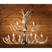 Authentic Antler Chandelier Lamp Deer Horn Chandelier Faux Antler Chandelier Faux Antler