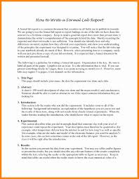 word lab report template formal lab report template noaa class resume canada