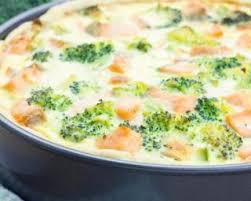 cuisiner le brocolis frais recette de quiche rapide diététique au saumon et brocoli