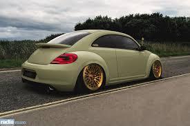 stanced volkswagen beetle radi8 r8a10 volksagen beetle