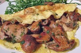 cuisiner cepes omelette aux cèpes recettes cuisine française