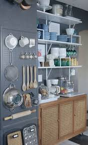 storage kitchen kitchen grey pegboard storage in the kitchen 20 smart diy