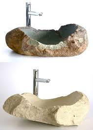 stone sinks for the bathroom another great way to incorporate