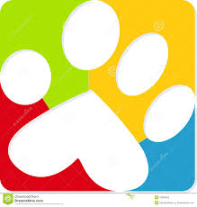 paw print stamp stock illustration image 39006893