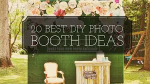 how to make your own photo booth 20 diy best photo booth ideas