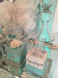 Tiffany Color Party Decorations Tiffany Quinceañera Party Ideas Tiffany Tiffany Party And