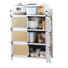 cabinet storage in kitchen kitchen cupboard stainless steel multi function storage cabinet stove cabinet storage cabinet microwave cabinet
