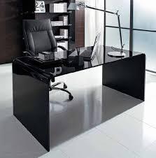 Glass Modern Desk Glass Top Office Furniture Desks Spectacular Computer Throughout