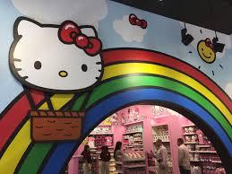 new hello kitty store at universal studios florida sanrio orlando
