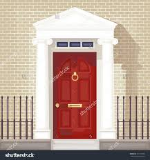 open house door stock vectors vector clip art shutterstock