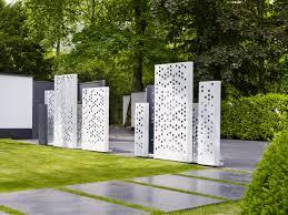 Trennwand Garten Glas Garten Metall Sichtschutz U2013 Godsriddle Info