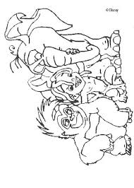 tarzan coloring pages tarzan friends color fun