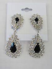 bridal clip on earrings bridal clip on earrings ebay